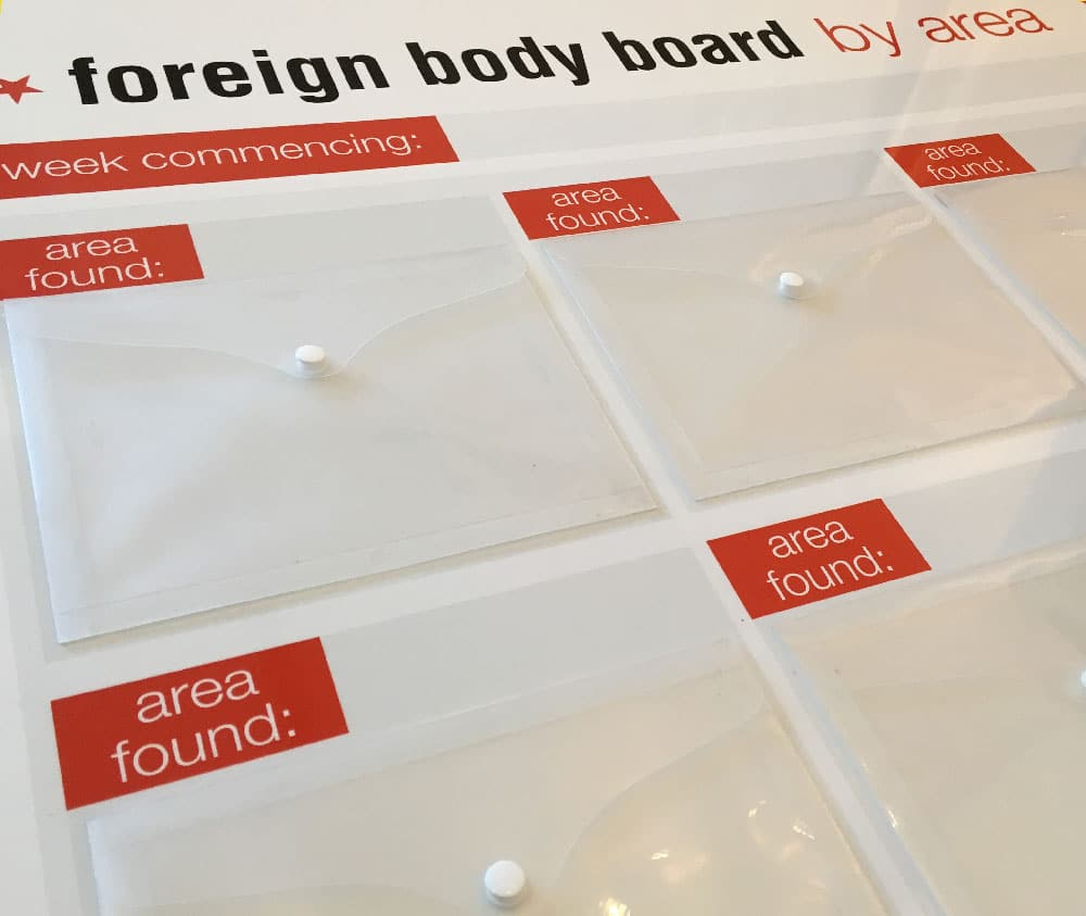 foreign body boards