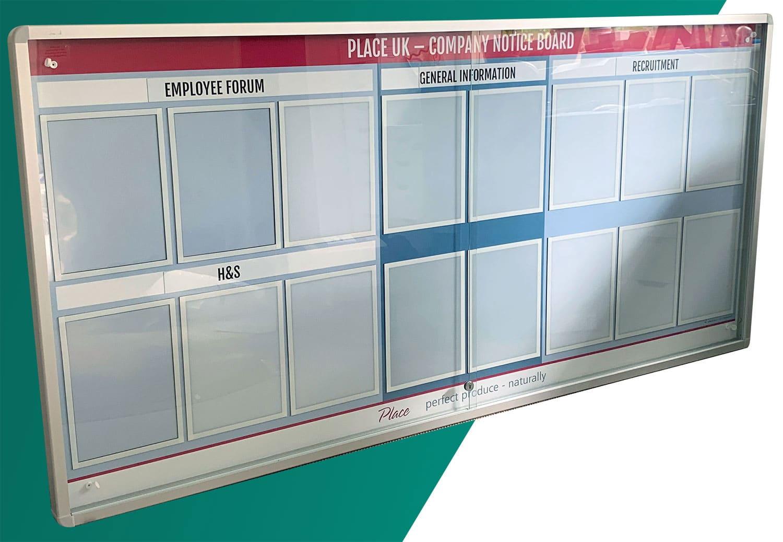 Customised Noticeboard