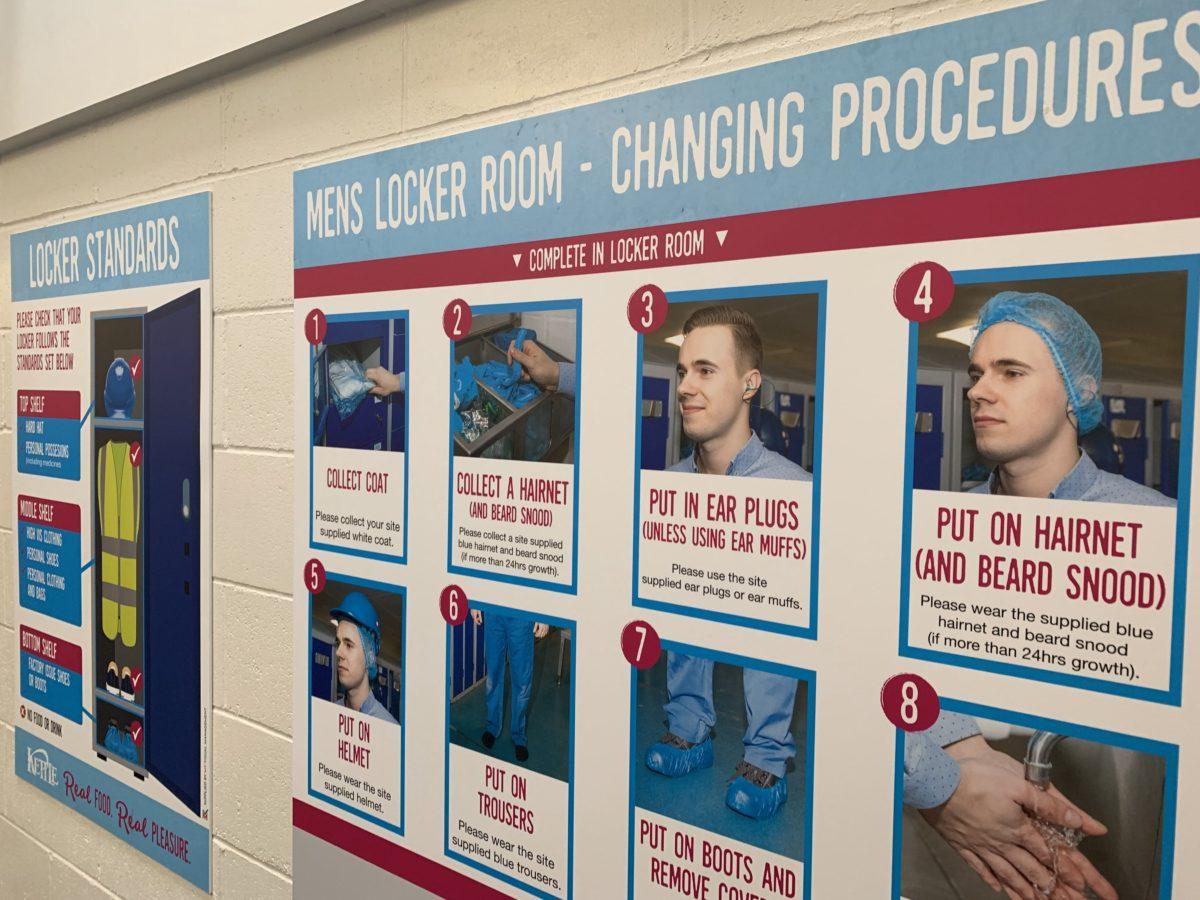 Changing Procedures board