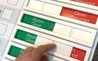 Red/Green status indicator sliders