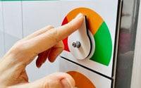 Status indicator dials